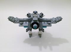Excalibur Flight Pack (funnystuffs) Tags: metal robot lego flight full pack panic driver custom mecha excalibur mech lambda arbalest