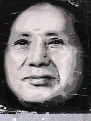Mao tse tung as Graffiti in Berlin (Germany) (Marco Braun) Tags: street berlin art face graffiti gesicht mao 2014 maotsetung