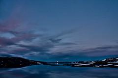 Mondaufgang am Halnefjorden (efgepe) Tags: 2016 skandinavien mond moon mondaufgang halne halnefjorden norwegen norge noreg norway farbe color colour viveza lightroom hardangervidda