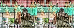 The stereophotographer 3D (Bruno Zaffoni) Tags: yogyakarta java indonesia 3d stereoscopy stereophotography