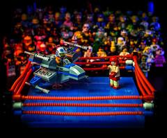 X-Wing vs.Thai Fighter (Baron Julius von Brunk) Tags: lego minifigures starwars legostarwars muythai minifigs brunk xwing