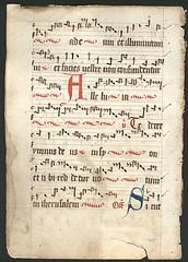 (+)1450 German Gradual-Processional, verso. (illustratormihi2) Tags: cistercian processional gradual illuminatedmanuscript medievalmanuscript medievalilluminatedmanuscript missaomnesgentes