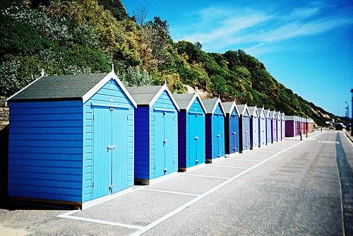 Bournemouth beach huts #2