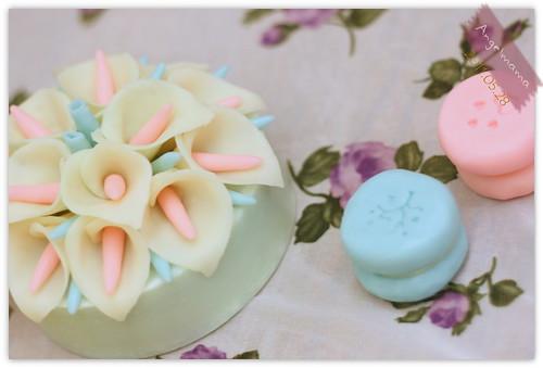 天使媽媽蛋糕皂教學 041