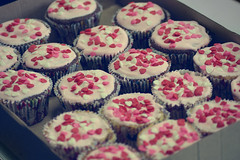 We  Cup Cakes! (Bruna Lacrout ) Tags: vanessa sorry hearts yummy candy sweet chocolate laranja tagged coraes cupcake coco escola muffin morango doce sumida colgio bolinhos delcia vendas adorovocs sonya230 sintosaudade