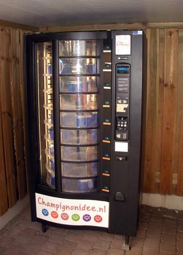 Mushroom Vending Machine
