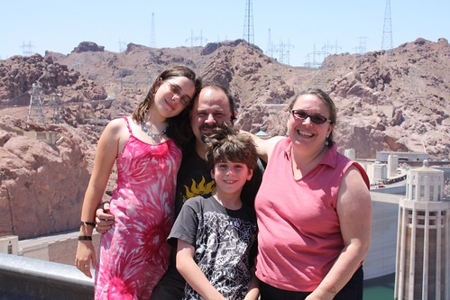 Millers at Hoover Dam