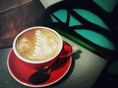 Flat White, Forty Hands, Yong Siak Street, Tiong Bahru
