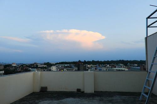 flower cloud