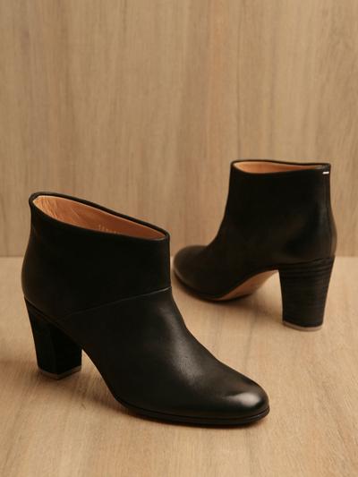 www.ln-cc.com Maison Martin Margiela 22 Women's Black Ankle Boots