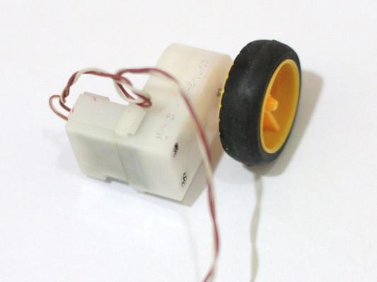 Motor DC dan Roda