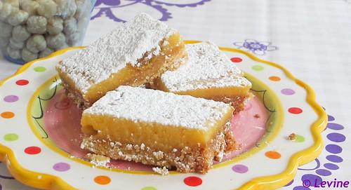 Abrikozen-citroen taartje