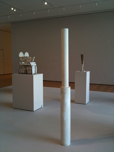 Cy Twombly sculptures @ MoMa