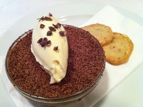 Chocolate Mousse & Crème Fraîche