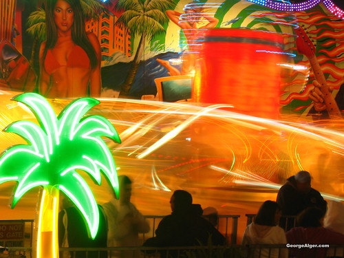 Neon Green at the Fair