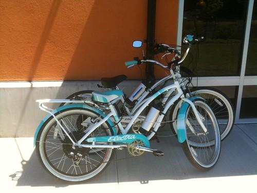 Downspout Bike Parking by Oakwright