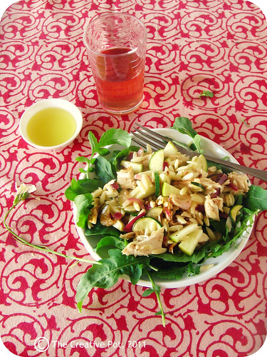 Bbq chicken orzo salad c-w