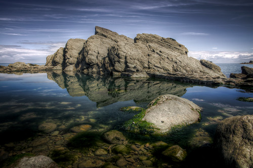 490/1000 - Woody Bay Reflections by Mark Carline