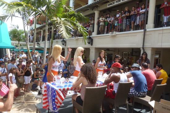 Nathan S Hot Dog Counting Girls
