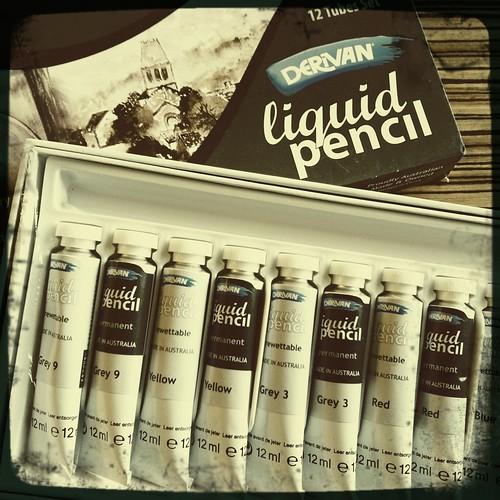 liquid pencil from Matisse Derivan