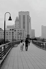FM2_Planar_Yokohama_20110703_28 (Jun Takeuchi) Tags: bw film monochrome japan zeiss 50mm blackwhite nikon iso400 streetphotography 日本 yokohama filmcamera kanagawa ilford 横浜 fm2 50mmf14 planar 神奈川 carlzeiss 神奈川県 c41 filmphotography zf newfm2 fm2n ilfordxp2super400 nikonnewfm2 横浜市 planart1450 planar1450 planart50mmf14zf planart1450zf 山下臨港線プロムナード