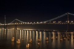 The Sweet Spot (S Ty Photography) Tags: sanfrancisco longexposure embarcadero oaklandbaybridge