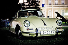 Polizei (Michad90) Tags: old car night germany 50mm lights nikon police porsche nikkor karlsruhe polizei sportwagen d90