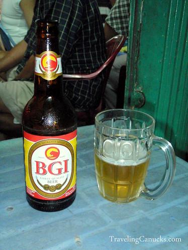 BGI Beer Ho Chi Hinh Vietnam