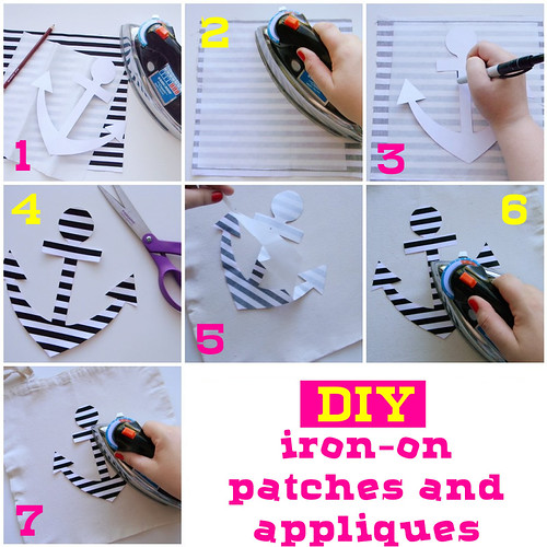 DIY iron-on patches & appliques