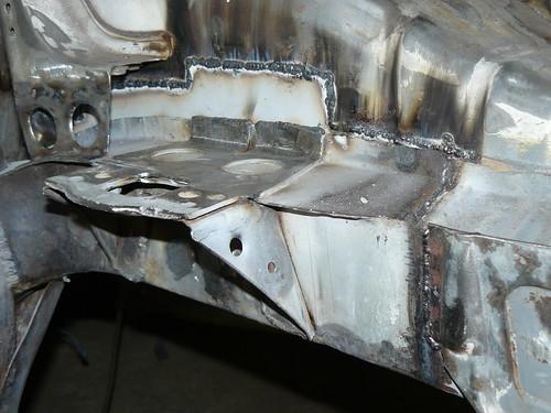 N/S Chassis Rail Repair
