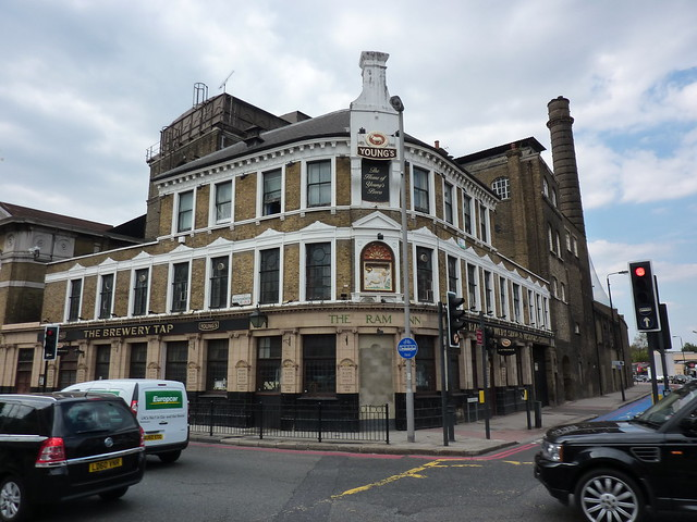 The former Youngs Brewery in Wandsworth