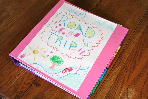 5911914937 8b1b34e9af Preparing for a Road Trip by Making a Planning Folder