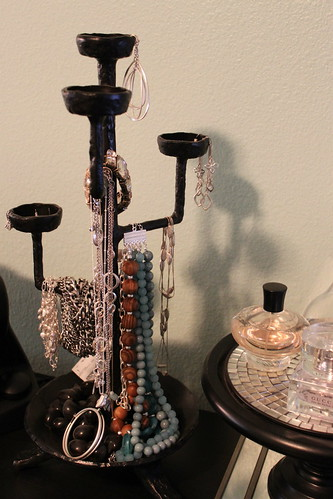 Candleabra Jewelry Holder