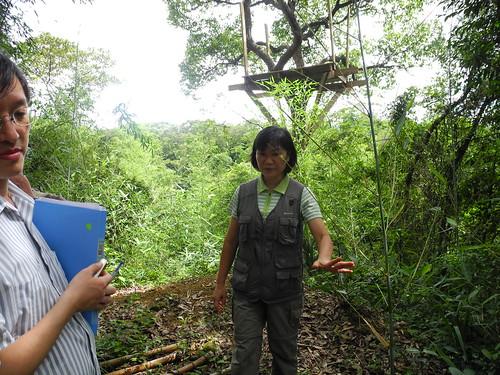 最怕毛毛蟲的吳語喬,卻在這塊荒地適應下來,對大自然只有更愛。