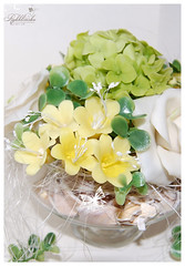 My fist flowers (RykhlinskaARTstudio) Tags: handmade decoration lunaclay thaiclay