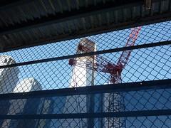 9/11 Memorial at World Trade Center site, Lower Manhattan, New York City (iainh124a) Tags: nyc newyork building america lumix us construction memorial unitedstates manhattan worldtradecenter 911 panasonic wtc september11 churchstreet bigapple groundzero lowermanhattan september11th rebuilding weststreet 911memorial greenwichstreet veseystreet tz7 dmczs3 iainh124a dmctz7 zs3