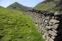 Am Kirkstone Pass, Northumberland, Lake District,