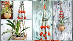 Tangerine Tango Handmade Natural Hemp Macrame Plant Hanger (Macramaking- Natural Macrame Plant Hangers) Tags: tangerine tango clementine orange jewels jewelry seedbeads httpwwwetsycomshopmacramaking homedecor hippies herbs hemp happy hangingbaskets hangingbasket hanging hanger hang handmade groovy green gift gardening funky flowing fibers festive fengshui exciting etsy detailed delicious decorativeknotting decorative darling creative craft cottage conversation containergardening colorful chic cheerful character brass bohochic boho bohemian beauty beads balance alternating adorable accessory plants planthangers planthanger plant original organic orangeberries office nc natural multicolor mother mothersdaygifts madeinusa macram macrameplanthanger macrame macramaking knots 12mmorangebeads zen