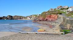Hope Cove, Devon (Baz Richardson (now away until 24 Oct)) Tags: sea coast seaside cove cliffs devon englishchannel hopecove southdevon sandybeaches