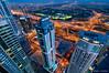 The Veins Of Dubai #10 (DanielKHC) Tags: blue 2 tower night digital marina 1 nikon dubai cityscape towers uae vertigo explore torch hour veins dri hdr blending d300 danielcheong danielkhc tokina1116mmf28