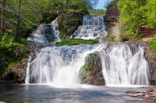 Dzhurin Falls / Джуринский водопад