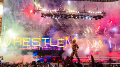 The Rock defeats John Cena at Wrestlemania XXVIII