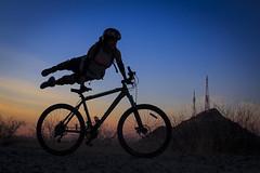 Mtb La Cementera (Norma Ibarra (Lapir0)) Tags: mountain sonora desert bikes biking desierto hermosillo cementera