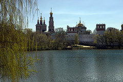 Novodevichy lake (Varvara_R) Tags: architecture geotagged ed spring russia moscow historical nikkor 2470mm f28g novodevichyconvent nikond800