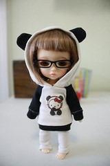 Hello KItty Panda Ear Hoodie (nettle.) Tags: hat yellow 30 ball asian toys cafe doll dolls geek you handmade group cm made tiny micro ear lea bjd addicted fans dedicated dollfie nettle basic fashions jointed balljointed latidoll addicts lati babyz tinybjd latidah gupr bjd sewn