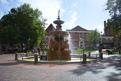 Photo of Leicester Town Hall Square Fountain