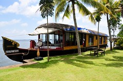 Our houseboat on the Backwaters (Dave Haydon) Tags: houseboat backwaters