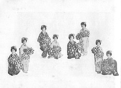 Naniwa Odori 1936 006 (cdowney086) Tags: naniwaodori shinmachi   vintage 1930s osaka  geiko geisha
