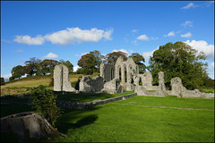 Inch Abbey. (ikerr) Tags: inch abbey downpatrick down northernireland ireland panasonic tz100 ruins old building stone gameofthrones