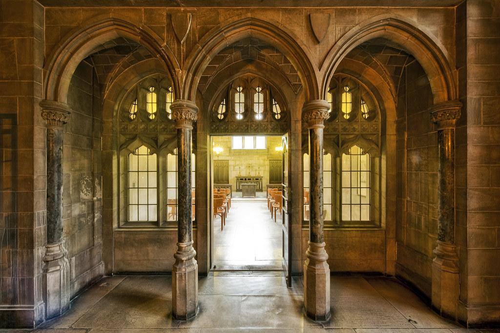The Chapel Entrance (single RAW)